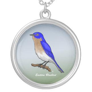 Eastern Bluebird rev.2.o Necklaces