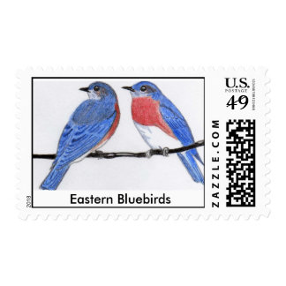 Eastern Bluebirds Stamps, Postage