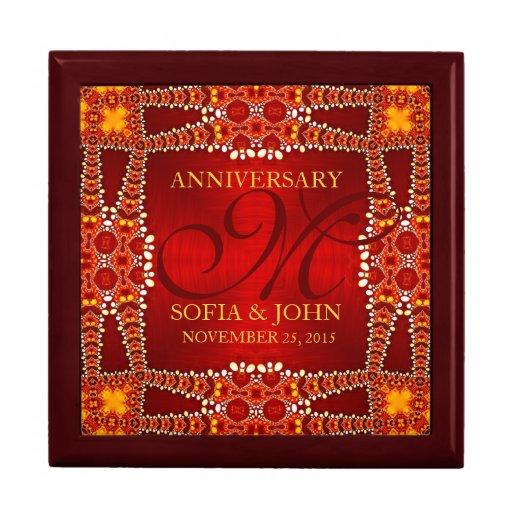 Eastern Bohemian Wedding Anniversary Gift Box