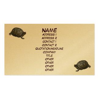 Eastern Box Turtle Business Card