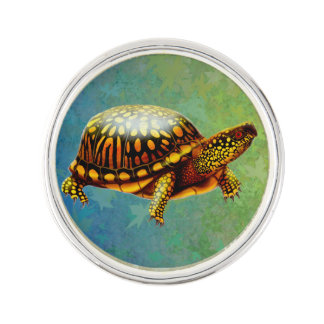 Eastern Box Turtle Lapel Pin