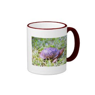 Eastern Box Turtle Louisiana Ringer Mug
