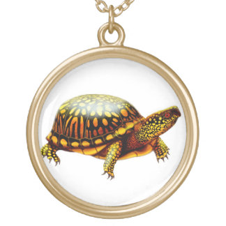 Eastern Box Turtle Necklace
