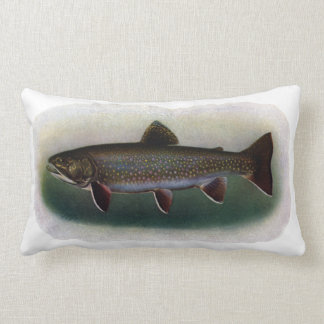 Eastern Brook Trout Painting Pillow