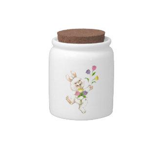 Eastern Bunny Cheer Candy Jar