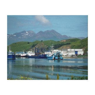 Eastern Channel, Dutch Harbor, AK Canvas Print