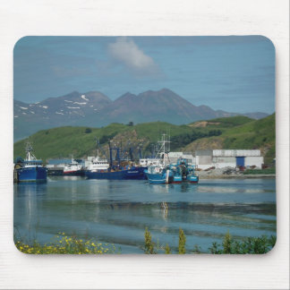 Eastern Channel, Dutch Harbor, AK Mouse Pad