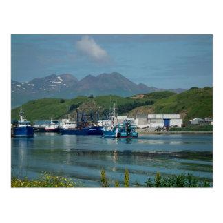Eastern Channel, Dutch Harbor, AK Postcard