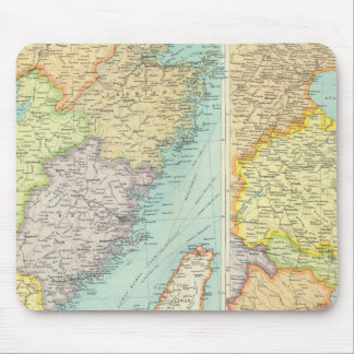 Eastern China political map Mouse Pad