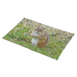 Eastern Chipmunk Cloth Place Mat
