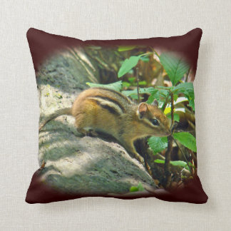 Eastern Chipmunk - Tamias Pillow