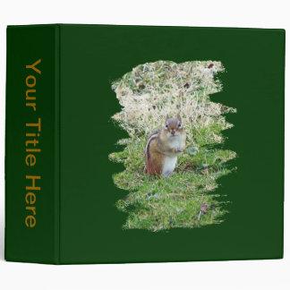 Eastern Chipmunk - Tamias striatus Binder