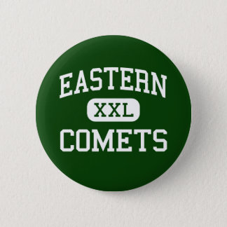 Eastern - Comets - High School - Greentown Indiana Button