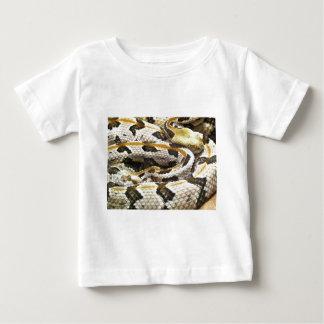 Eastern Diamond Back Rattle Snake Baby T-Shirt