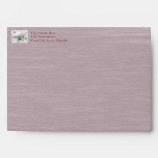 Eastern Dogwood Blossoms - Cornus florida Envelope