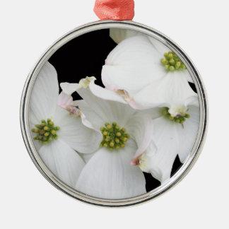 Eastern Dogwood Blossoms - Cornus florida Metal Ornament