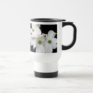 Eastern Dogwood Blossoms - Cornus florida Travel Mug