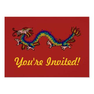Eastern Dragon Card