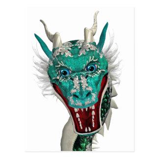 eastern dragon post card