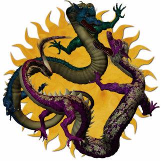 Eastern Dragons Sculpture