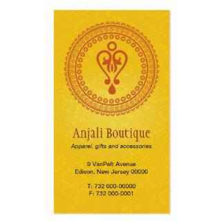 Eastern Embellished Business Card