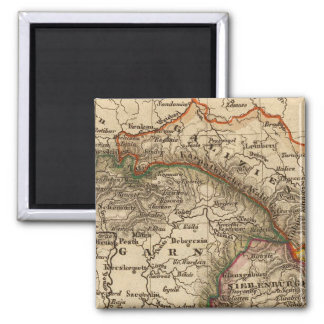 Eastern Europe 2 Inch Square Magnet