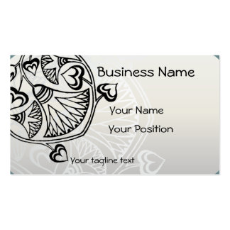 Eastern European Folk Art Double-Sided Standard Business Cards (Pack Of 100)