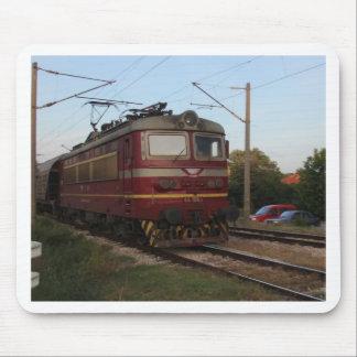 Eastern European Goods Train Mouse Pad