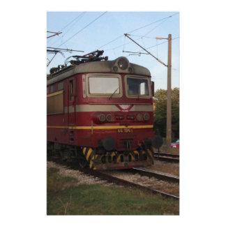 Eastern European Goods Train Stationery