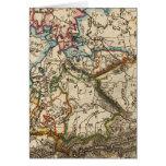Eastern European Map Card