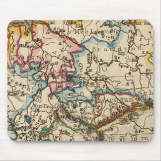 Eastern European Map Mouse Pad