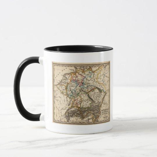 Eastern European Map Mug