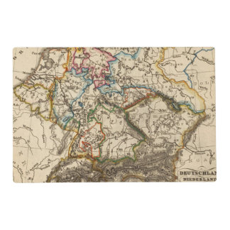 Eastern European Map Placemat
