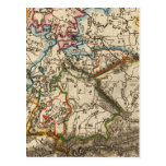 Eastern European Map Postcards