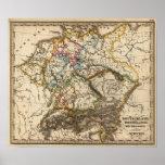 Eastern European Map Posters