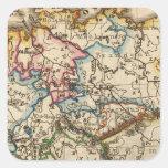 Eastern European Map Sticker