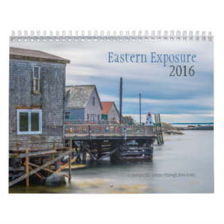 Eastern Exposure Wall Calendar