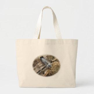Eastern Eyed Elater Click Beetle - Alaus oculatus Large Tote Bag