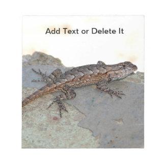 Eastern Fence Lizard notepad