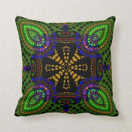 Eastern Fusion Tribal Batik Cushion Pillow