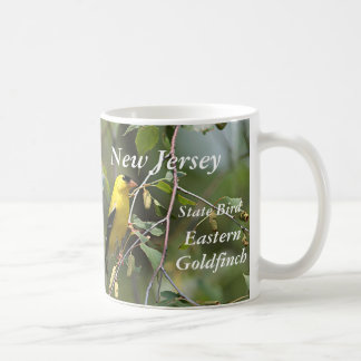 Eastern goldfinch - New Jersey state bird Coffee Mug