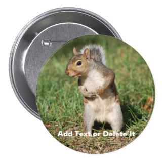 Eastern Gray Squirrel button