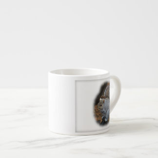 Eastern Gray Squirrel - Sciurus carolinensis Espresso Cup