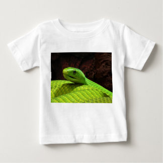 Eastern Green Mamba Dendroaspis Angusticeps Baby T-Shirt