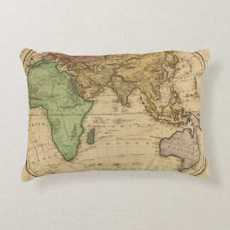 Eastern Hemisphere 10 Accent Pillow