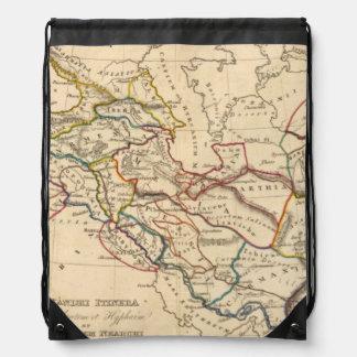 Eastern Hemisphere 11 2 Drawstring Backpacks