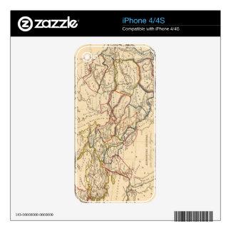 Eastern Hemisphere 11 2 Skins For The iPhone 4