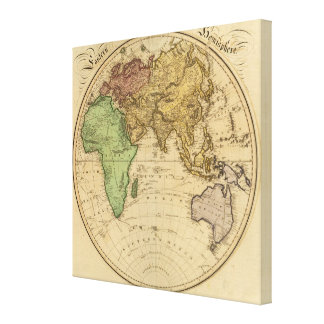 Eastern Hemisphere 11 Stretched Canvas Prints