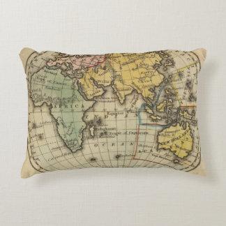 Eastern Hemisphere 11 Accent Pillow