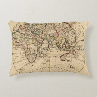 Eastern Hemisphere 12 Decorative Pillow